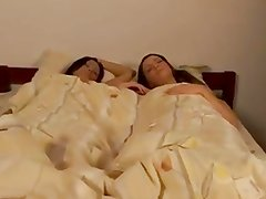 Papa - Two Russian Lesbian Teens In One Bed