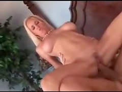 Big boobs bikini blonde fucked by muscular man