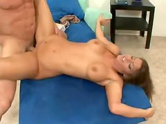 Super beautiful Madelyn Marie in boots fucked