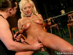 Sexy Trisha gets dominated and fucked hard in BDSM video