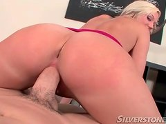 Pussy sits on dick reverse cowgirl in POV