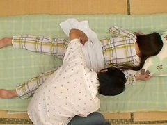 Rika Araki gets fucked after enjoying some passionate massage