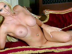 Cara Brett is an unthinkably beautiful blonde model with big
