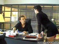 Horny Boss Bangs His Slutty Assistant
