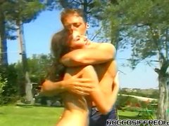 Rock n Roll Rocco Outdoor Fucking Group Sex