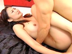 Groaning hooker Risa Murakami gets hammered doggy tough