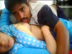 Chubby Indian girl gets her vag pounded in missionary position