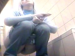 Be sure to check out how she is peeing