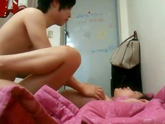 Asian couple dorm room xxx movie