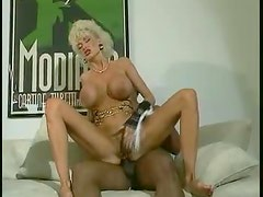 Mature and her two black lovers fuck