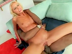 Nikki Luv getting fucked by black cockuy guy