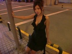 Alluring Japanese babe Kana Tsugihara poses on a cam taking teasing positions