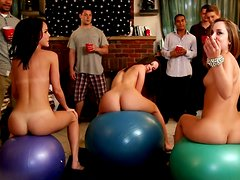 Party goes out of control with Jada Stevens, Remy LaCroix and Dillion Harper