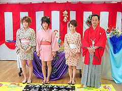 That asian massage school features 3 Sleaze chicks that learn how to do all insane things