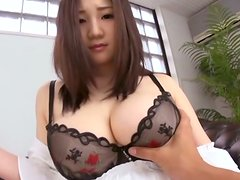 Big Breasted Teen Sou Miura Giving Head for Cum After Being Fingered