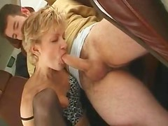 Milf in his roomy car sucking and fucking