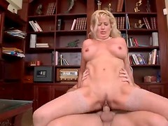 Mature in yummy stockings is anal slut