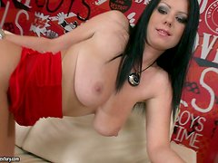 Amazing Rough Sex With the Busty Brunette Claudia Hot