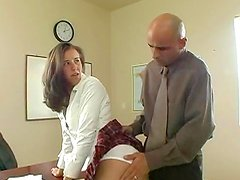 That booty babe Kelly Kline is getting sperm in her mouth