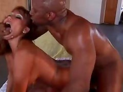Black in the ass of Ava Devine