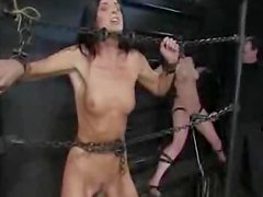 Extreme bdsm torture for two naughty sirens