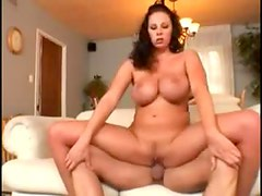 He cums on Gianna Michaels after sex