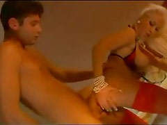 Glamorous slut is all about anal sex