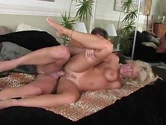 The milf gives him her holes to fuck