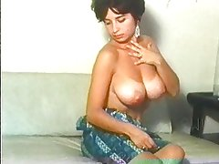 Retro pretty women with natural huge boobs!