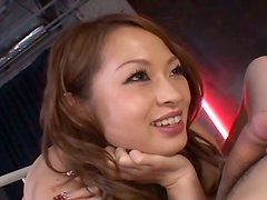 Breath-taking seductress Hikaru Houzuki pleasure the guy like no one can