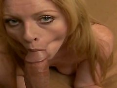 Billy Glide makes hottie Katrena to moan of pelasure while deep sucking his long dick