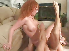 Audrey Hollander takes a double anal