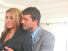 Have a glance at glamourous and sexy agent Anita Toro fucking with her awesome client Ramon Nomar