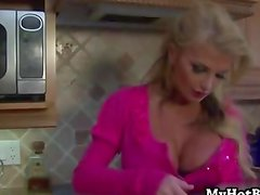 Taylor Wane is a horny divorcee MILF who calls up