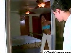 Afro Booty Afro American Pounded XXX