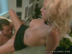 Desirable blondie Zana fucks with condoms only