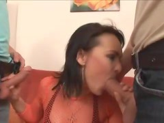 Bisexual butt fucking with ass to mouth sucking