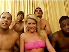 Sexy Chelsea is ready for a gangbang
