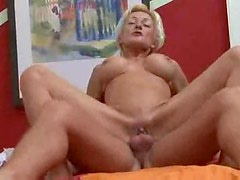 Horny fuckable mature gets on top