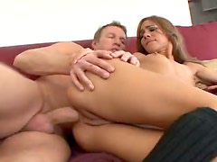 BJ before the big cock anal sex