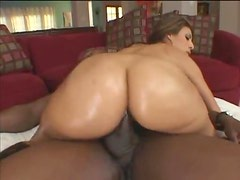 The oil on her ass makes her so fuckable