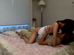 Romantic Japanese cutie Mako Wakatsuki getting laid